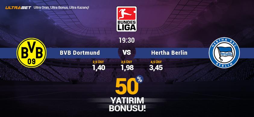 Borussia DortmundvsHertha Berlin - Canlı Maç İzle