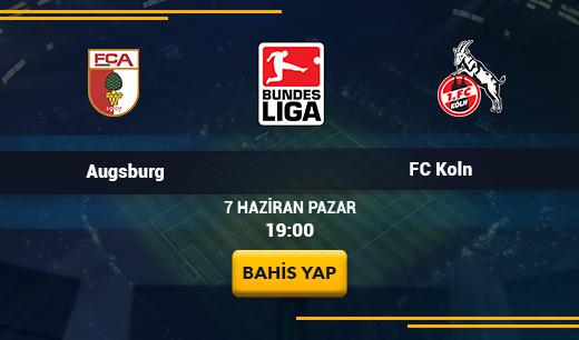 AugsburgvsFC Köln - Canlı Maç İzle