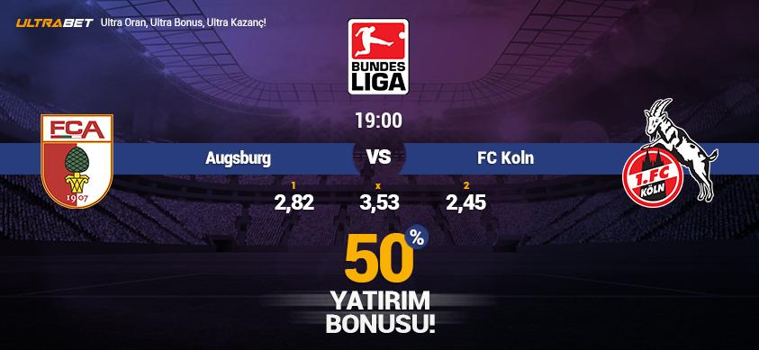 Augsburg vs FC Köln - Canlı Maç İzle