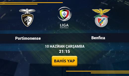 Portimonense vs Benfica - Canlı Maç İzle