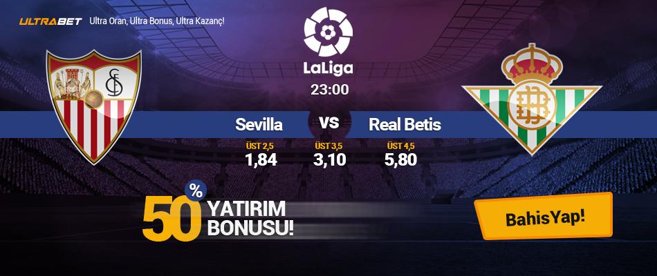 Sevilla vs Real Betis - Canlı Maç İzle