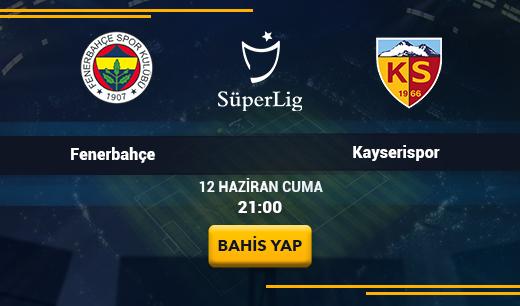 Fenerbahçe vs Kayserispor - Canlı Maç İzle