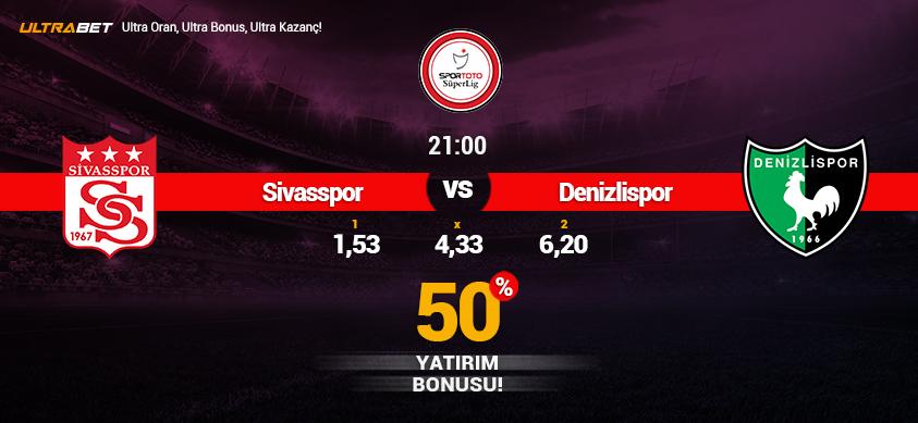 Sivasspor vs Denizlispor - Canlı Maç İzle