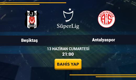 Beşiktaş vs Antalyaspor - Canlı Maç İzle