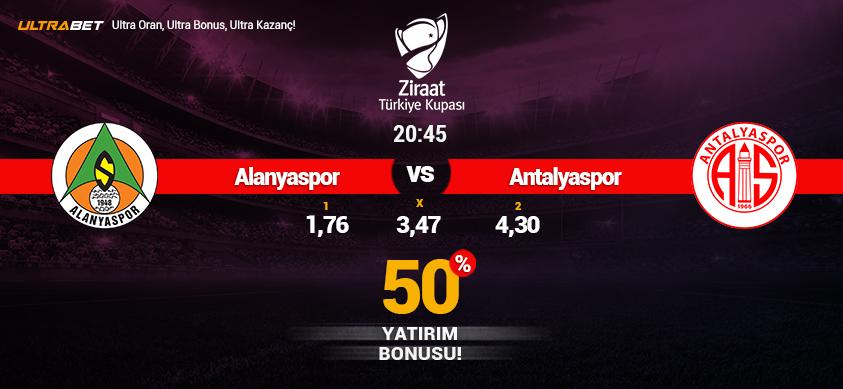 Aytemiz Alanyaspor vs Antalyaspor - Canlı Maç İzle