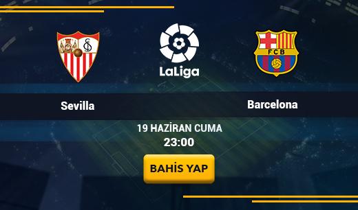 Sevilla vs Barcelona - Canlı Maç İzle