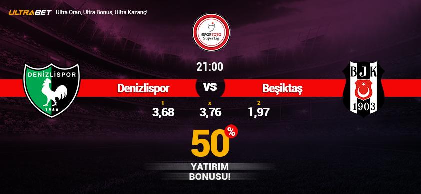 Denizlispor vs Beşiktaş - Canlı Maç İzle