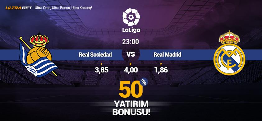 Real Sociedad vs Real Madrid - Canlı Maç İzle