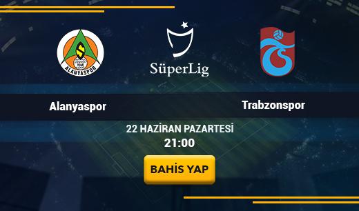 Aytemiz AlanyasporvsTrabzonspor - Canlı Maç İzle