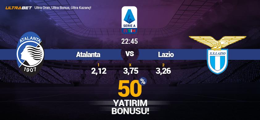 Atalanta vs Lazio - Canlı Maç İzle