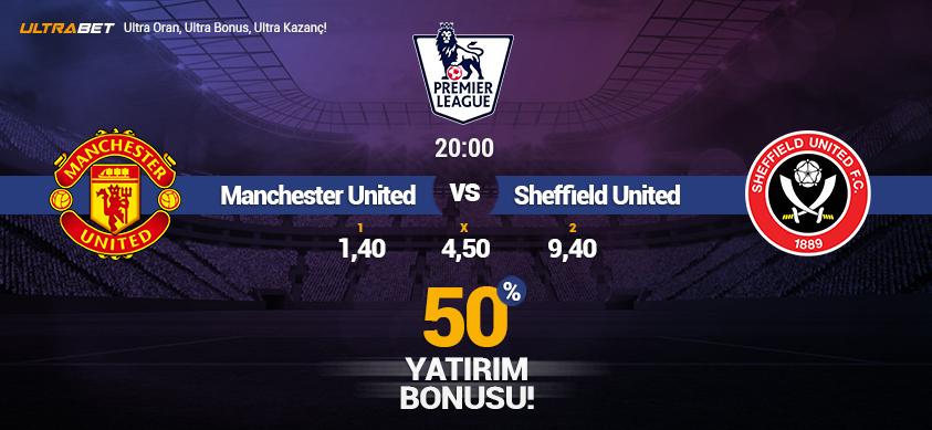 Manchester United vs Sheffield United - Canlı Maç İzle