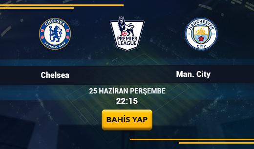 Chelsea vs Man. City - Canlı Maç İzle