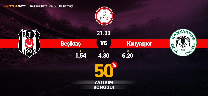 Beşiktaş vs Atiker Konyaspor - Canlı Maç İzle