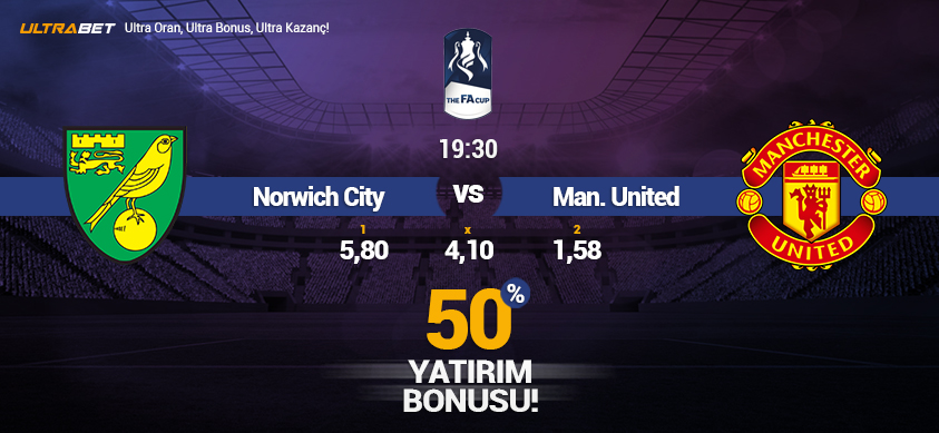 Norwich CityvsManchester United - Canlı Maç İzle
