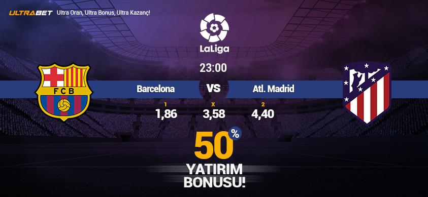 Barcelona - Atlético Madrid - Canlı Maç İzle