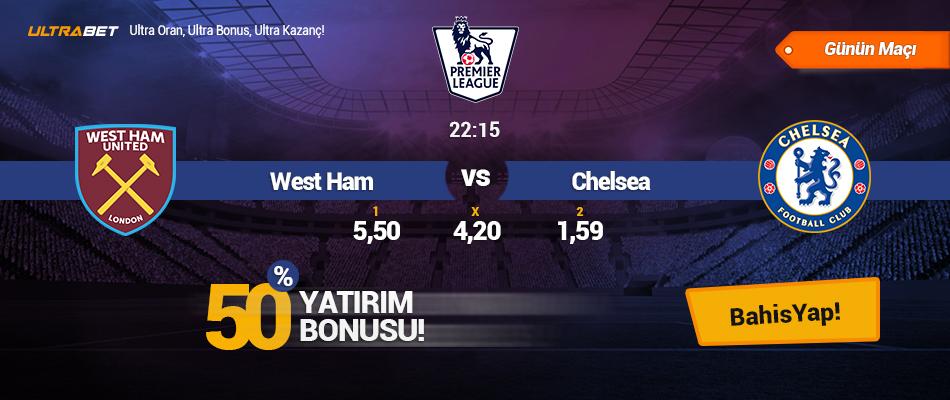 West Ham vs Chelsea - Canlı Maç İzle