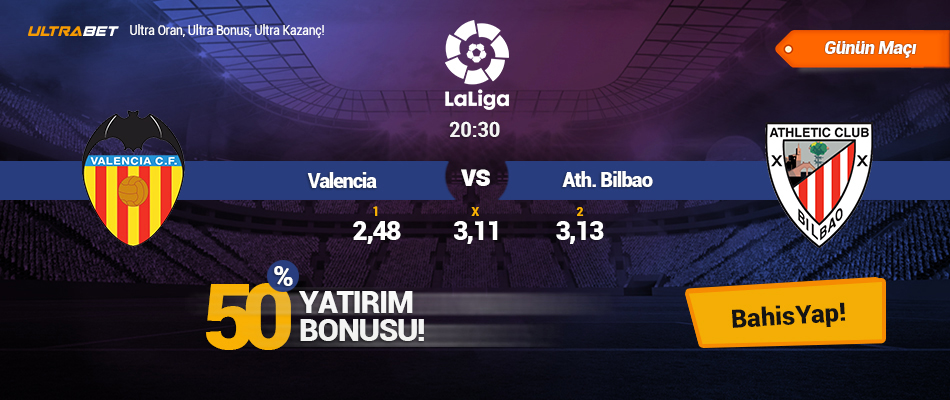 ValenciavsAth. Bilbao  - Canlı Maç İzle