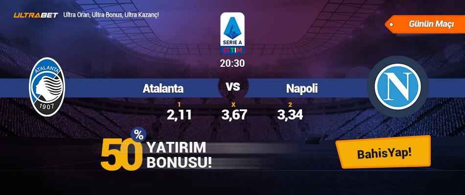 Atalanta vs Napoli - Canlı Maç İzle