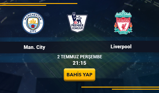 Man. City vs Liverpool - Canlı Maç İzle