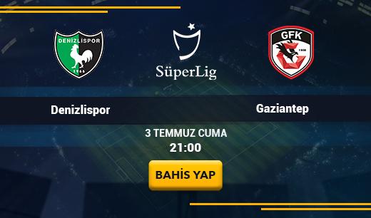 Denizlispor vs Gaziantep - Canlı Maç İzle