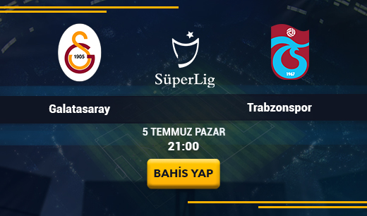 Galatasaray vs Trabzonspor - Canlı Maç İzle