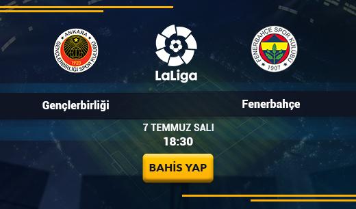 Gençlerbirliği - Fenerbahçe Canlı Maç İzle