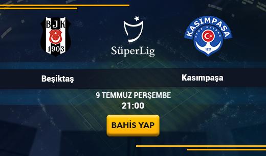 Beşiktaş vs Kasımpaşa - Canlı Maç İzle