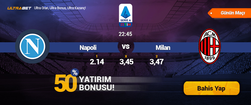 Napoli vs Milan - Canlı Maç İzle