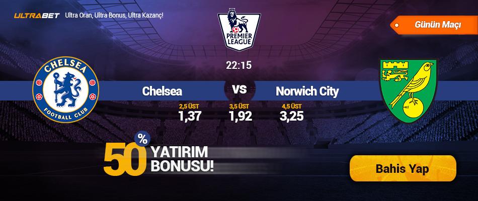 Chelsea - Norwich City - Canlı Maç İzle