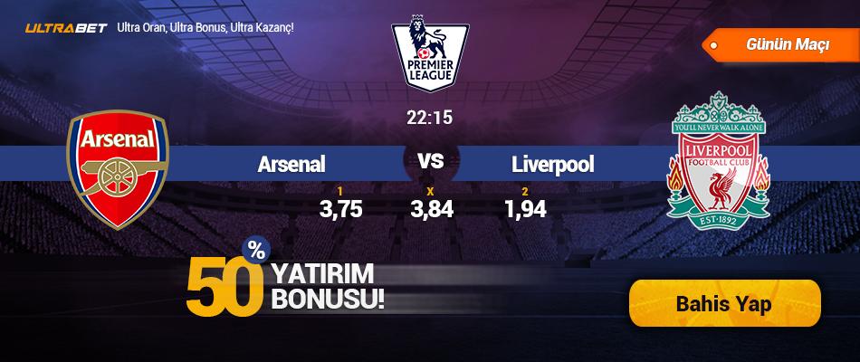 Arsenal vs Liverpool Canlı Maç İzle