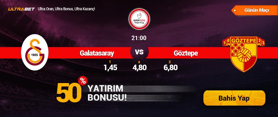 Galatasaray - Göztepe Canlı Maç İzle