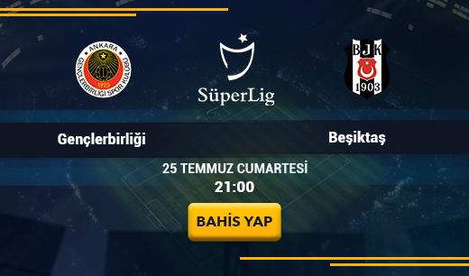 Gençlerbirliği-Beşiktaş - Canlı Maç İzle