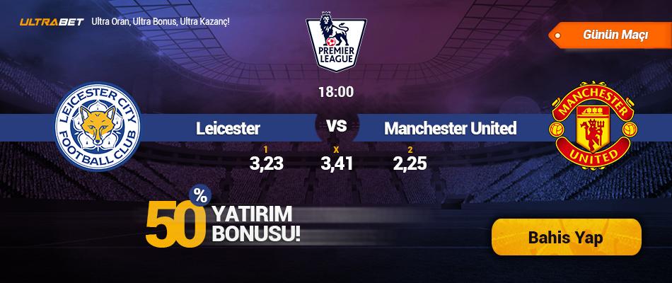 Leicester City - Manchester United- Canlı Maç İzle