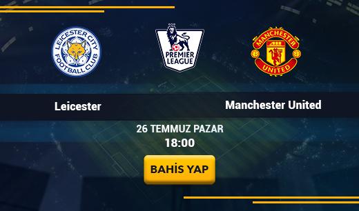 Leicester City - Manchester United - Canlı Maç İzle