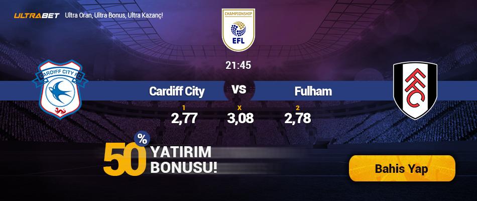Cardiff City-Fulham Canlı Maç İzle
