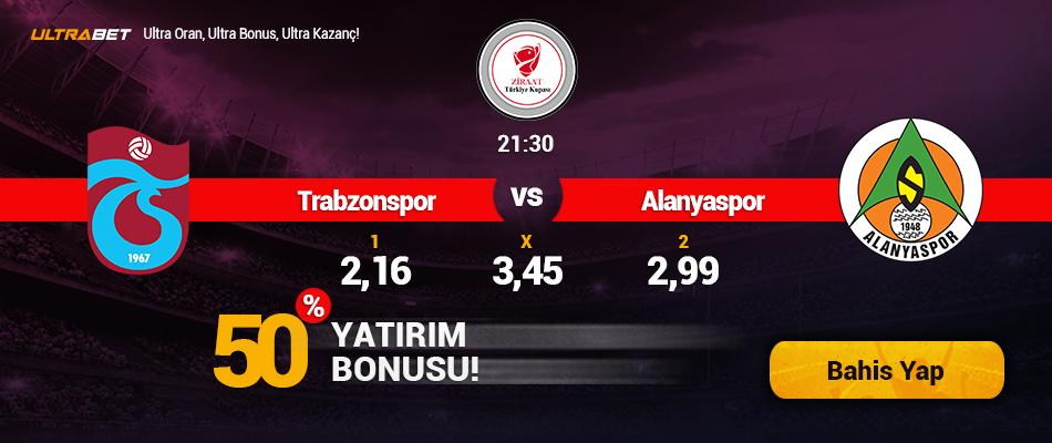 Trabzonspor-Alanyaspor Canlı Maç İzle