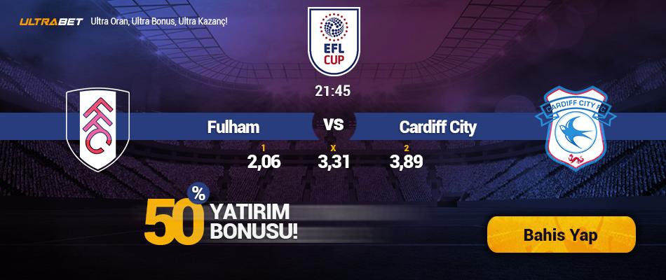 Fulham-Cardiff City Canlı Maç İzle