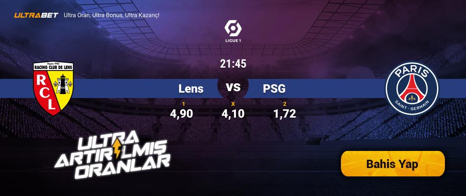 Lens - PSG Canlı Maç İzle