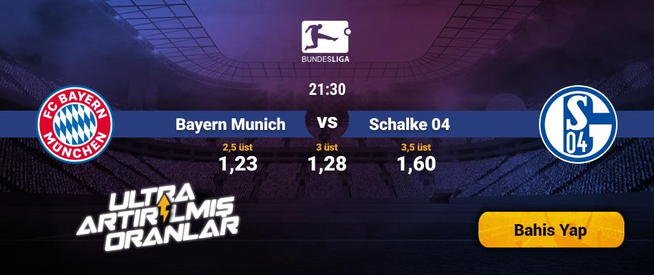 Bayern Münich - Schalke Canlı Maç İzle tv